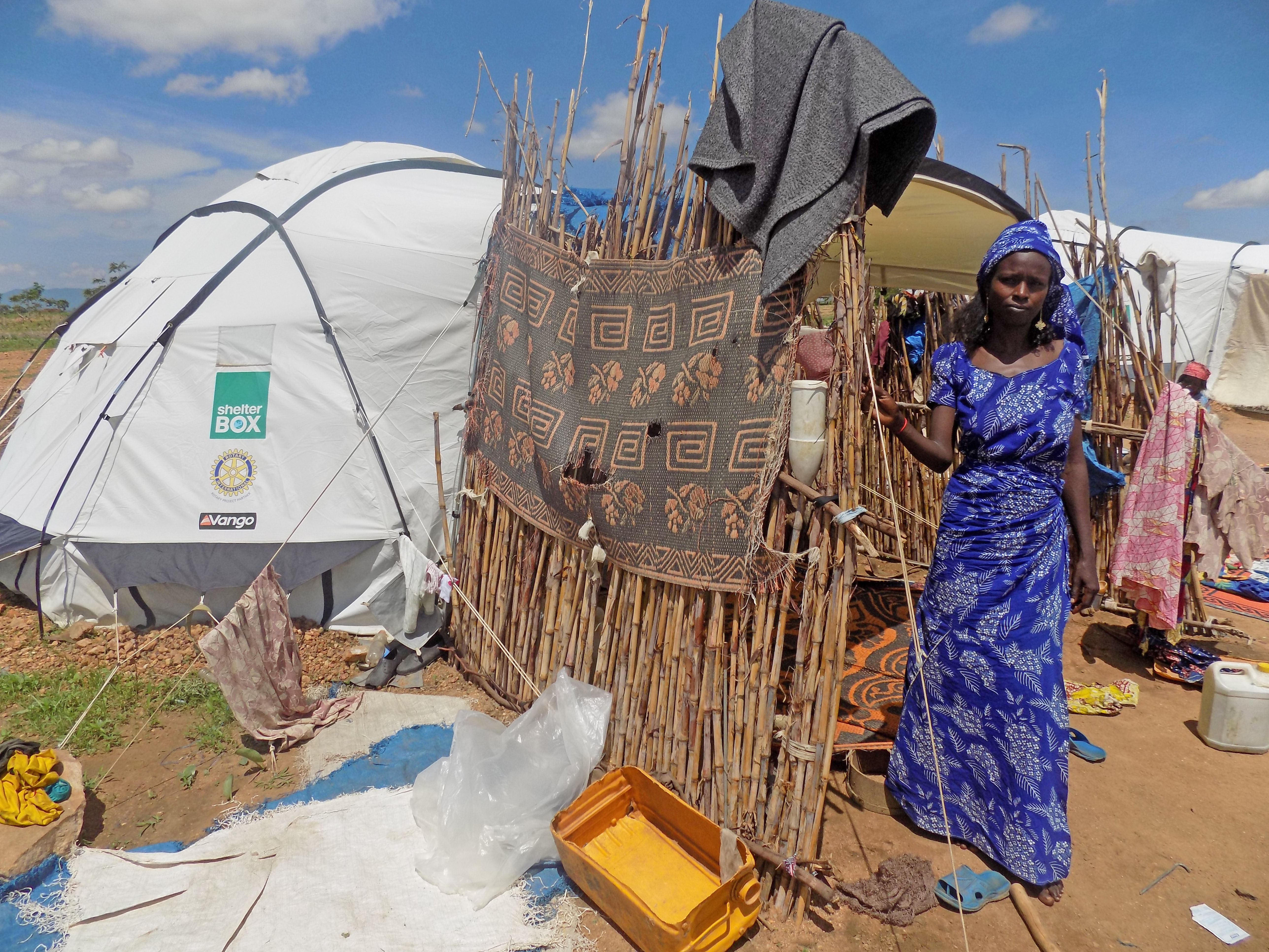 Fanne, ShelterBox Recipient, Cameroon