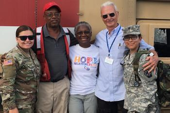 Disaster Recovery Team After Hurricane Maria