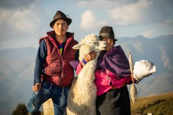 Gift catalog alpacas improve income, health in Ecuador