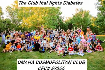 Cosmopolitan Club helping Diabetes Kids Camp Floyd Rogers